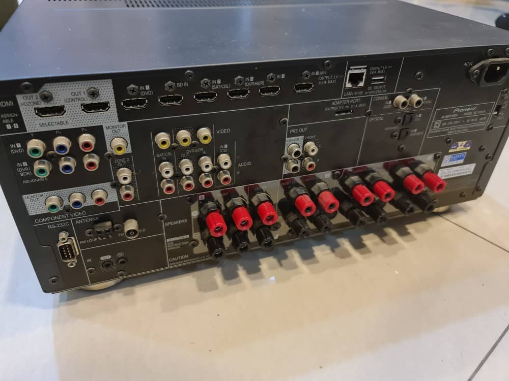(SOLD) Pioneer SC-1224 High End AV Receiver 7.2ch Whatsa22