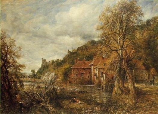 Molino y castillo de Arundel. Jhon Constable Arunde10