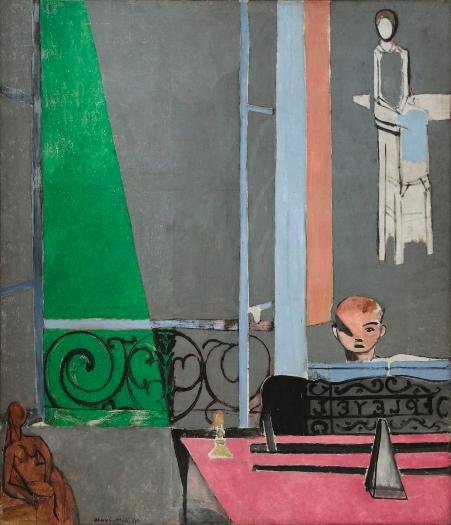 """""""La lección de piano"""". Henri Matisse Matiss11"""