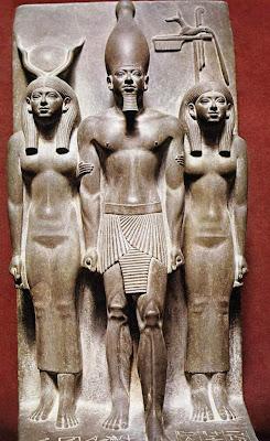 Escultura egipcia. Anónimo Miceri10