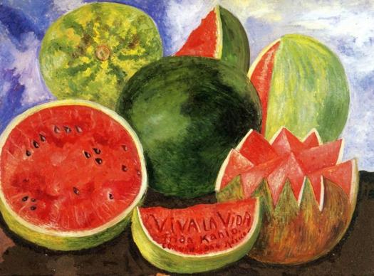"""""""Viva la vida"""". Frida Kahlo Sandia10"""