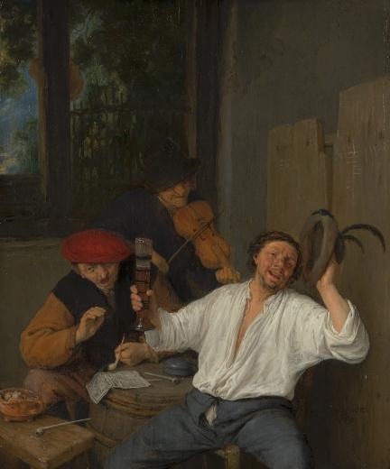 Los alegres bebedores. Adriaen van Ostade Tumblr14