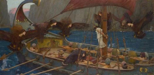 """""""Ulises y las sirenas"""". John William Waterhouse Ulises10"""