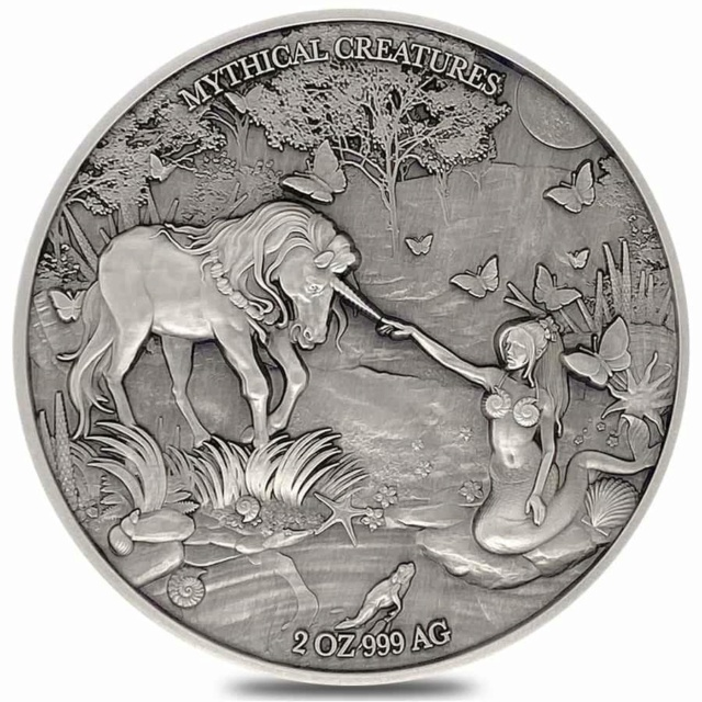 The Legend Of King Arthur 1 Oz Silver Coin 1$ Niue 2021 Front211