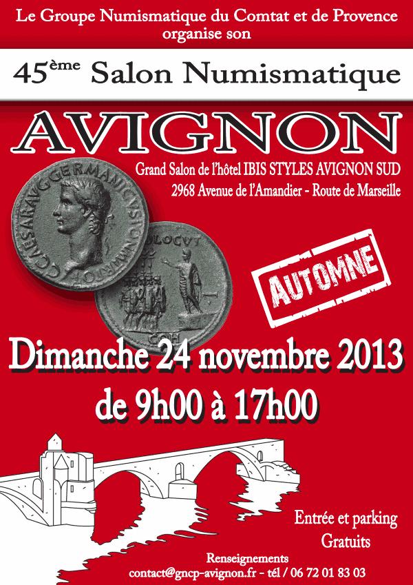 Salon de numismatique à Avignon - 24 novembre 2013 Salon10
