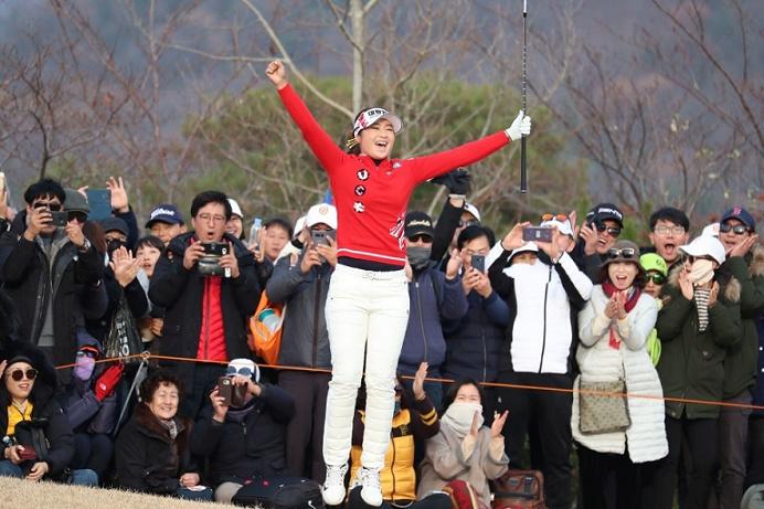 KLPGA - LPGA  Orange Life Champions Trophy 2018 ( Blue One Dianus Country Club - Korea ) Jel_ch10