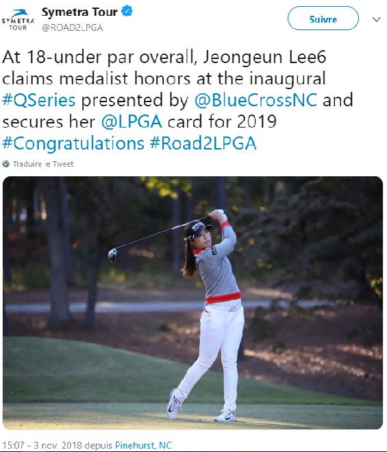 LPGA Q-School 2018 : Stage 2 ( 15 - 18 Octobre 2018 ) et Q Series ( 24 Octobre - 3 Novembre  2018 ) Jel_pi10