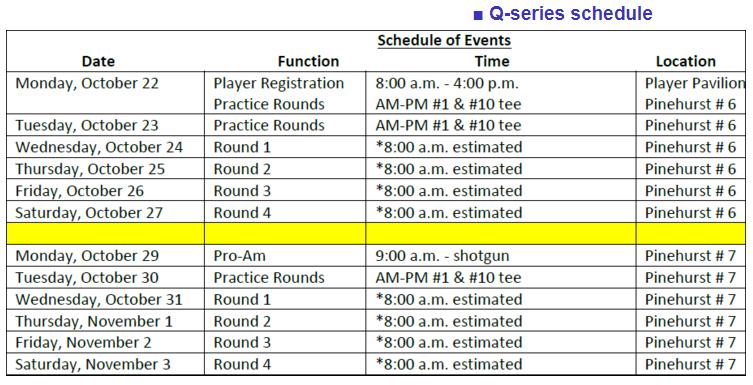 LPGA Q-School 2018 : Stage 2 ( 15 - 18 Octobre 2018 ) et Q Series ( 24 Octobre - 3 Novembre  2018 ) Q_seri10