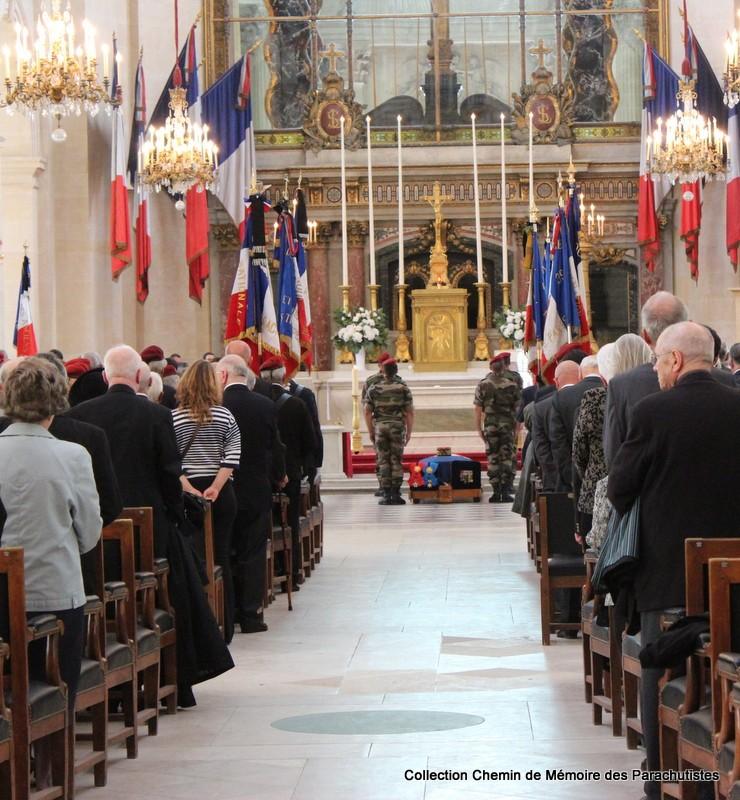 Le Général LE BOUDEC nous a quitté, cérémonie Saint-Louis des Invalides Img_8511