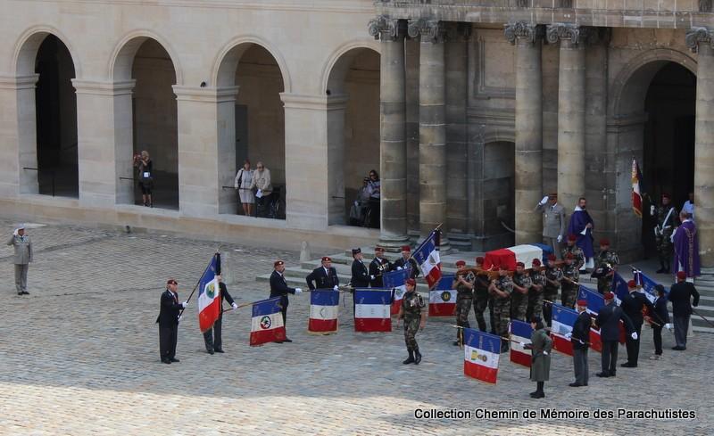 Le Général LE BOUDEC nous a quitté, cérémonie Saint-Louis des Invalides Img_8519