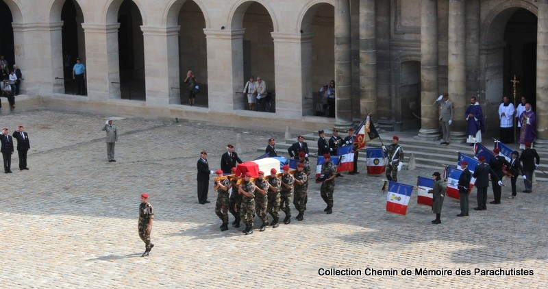 Le Général LE BOUDEC nous a quitté, cérémonie Saint-Louis des Invalides Img_8527