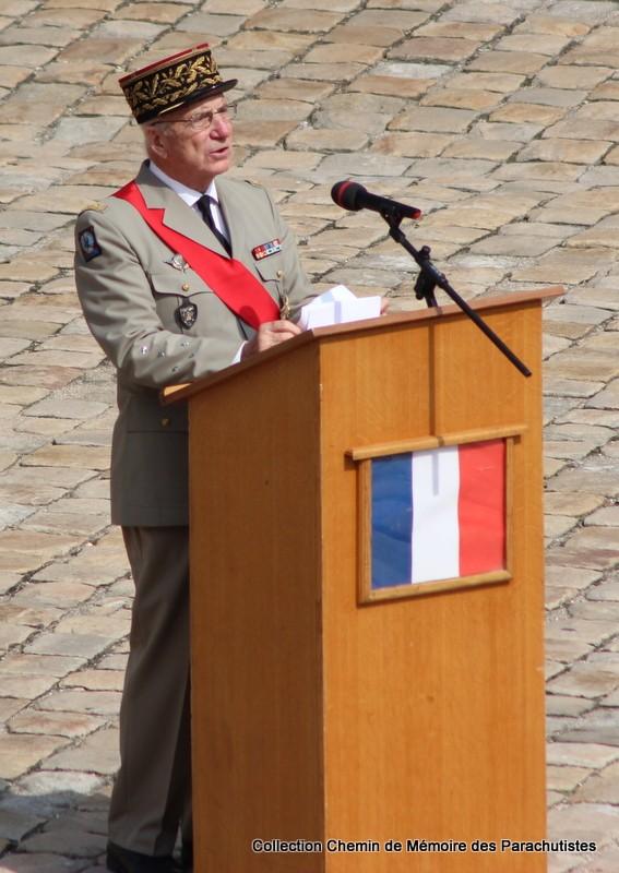 Le Général LE BOUDEC nous a quitté, cérémonie Saint-Louis des Invalides Img_8528