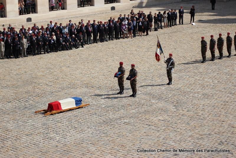 Le Général LE BOUDEC nous a quitté, cérémonie Saint-Louis des Invalides Img_8529