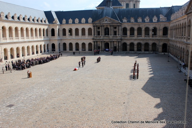 Le Général LE BOUDEC nous a quitté, cérémonie Saint-Louis des Invalides Img_8530