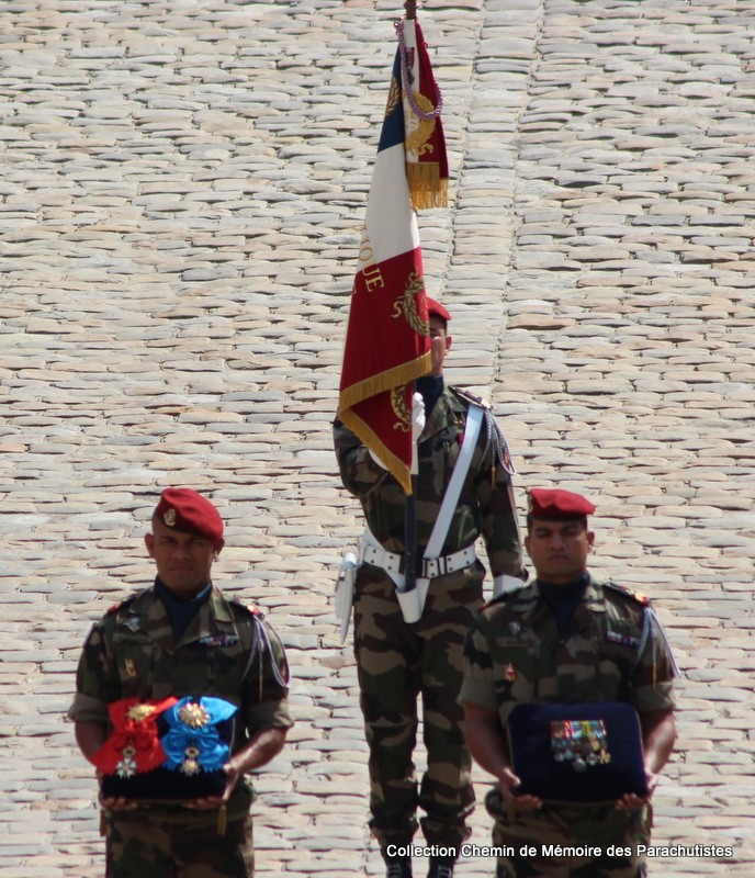 Le Général LE BOUDEC nous a quitté, cérémonie Saint-Louis des Invalides Img_8531