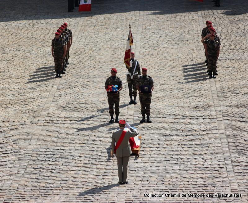 Le Général LE BOUDEC nous a quitté, cérémonie Saint-Louis des Invalides Img_8532
