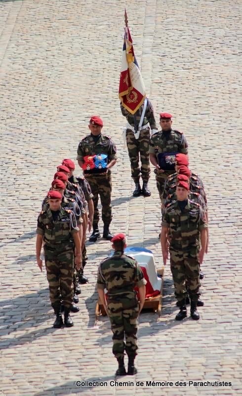 Le Général LE BOUDEC nous a quitté, cérémonie Saint-Louis des Invalides Img_8613
