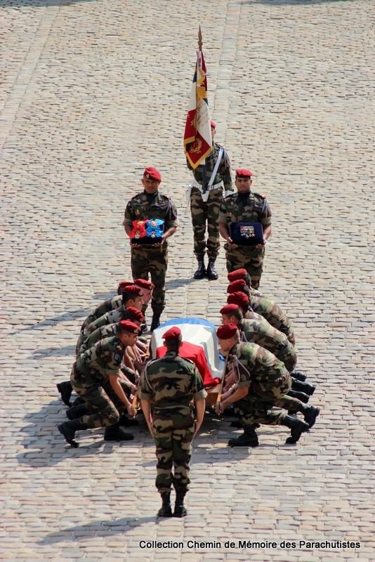 Le Général LE BOUDEC nous a quitté, cérémonie Saint-Louis des Invalides Img_8614