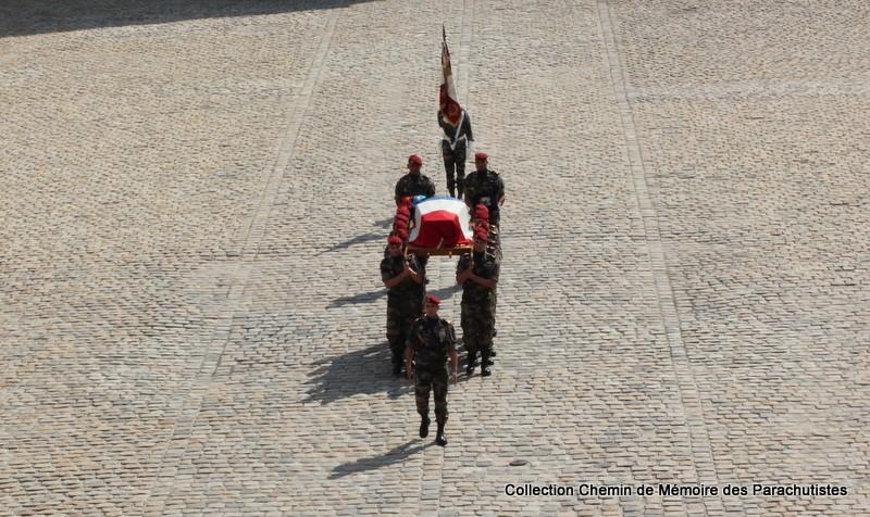 Le Général LE BOUDEC nous a quitté, cérémonie Saint-Louis des Invalides Img_8615
