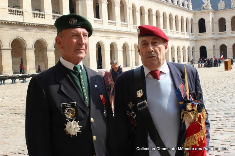 Le Général LE BOUDEC nous a quitté, cérémonie Saint-Louis des Invalides Img_8619