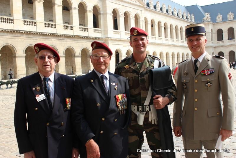 Le Général LE BOUDEC nous a quitté, cérémonie Saint-Louis des Invalides Img_8621