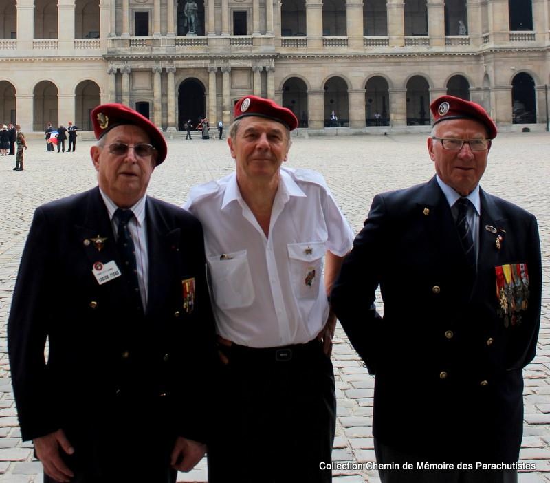 Le Général LE BOUDEC nous a quitté, cérémonie Saint-Louis des Invalides Img_8622