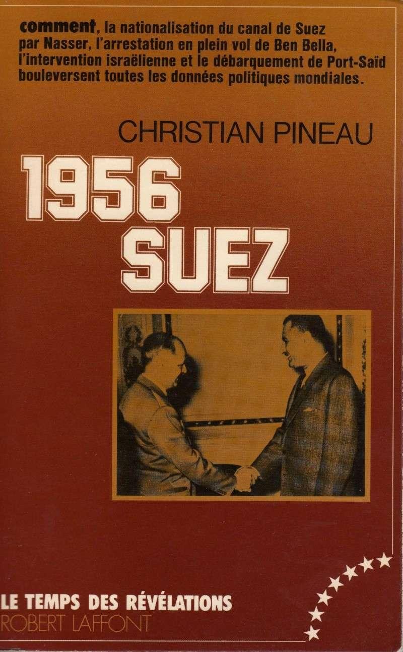 A lire: Nationalistion canal Suez-Arrestation Ben Bella en plein vol-Débarquement Port-Saïd- Boulversent politique mondiale 1956_s10