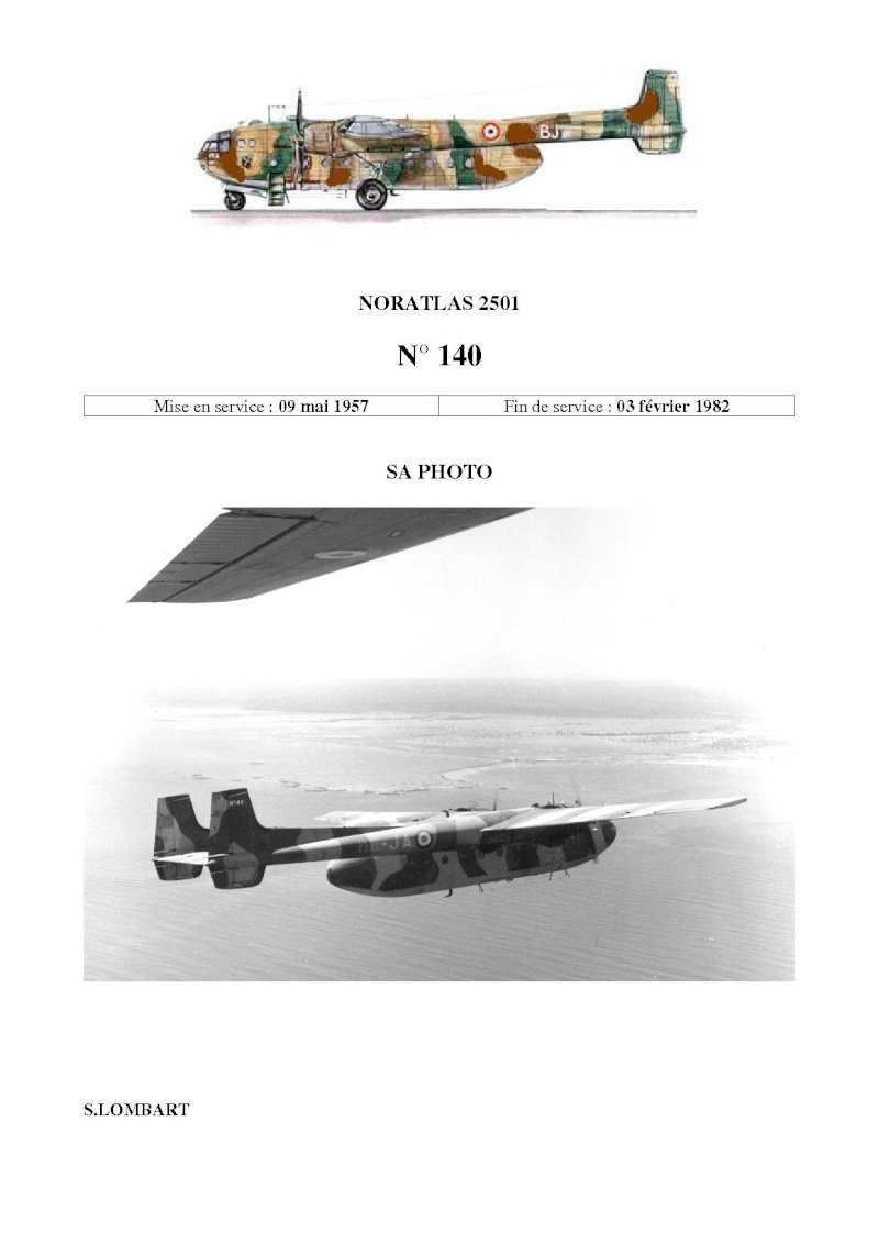 Noratlas n°140 - crash du 3 février 1982 Mont Garbi (Djibouti) N_14010