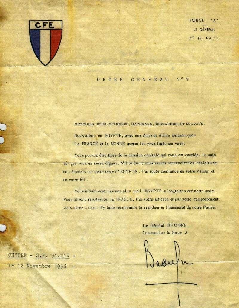 Ordre du jour N° 5: Nous allons en Egypte avec nos alliés-La FRANCE et le Monde auront les yeux fixés sur vous Ordre_10