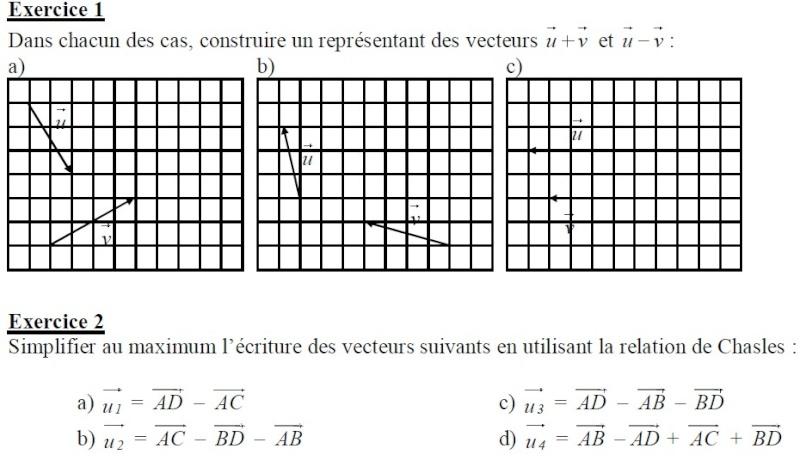 Exercice + corrections Effac11