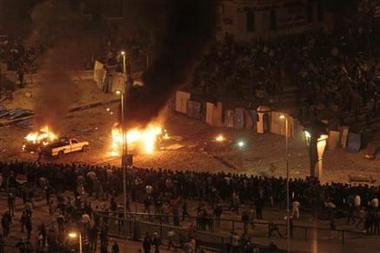 Crise en Egypte .  0110