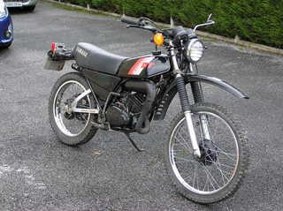 DTMX 125cc Membres / Mod. 1981 Dtmx8210