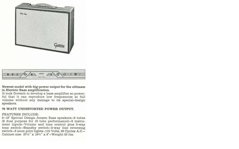6154 Bass Amp 1965. 232310