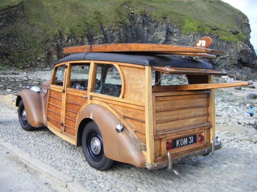 Les Woody's Surf car 888810