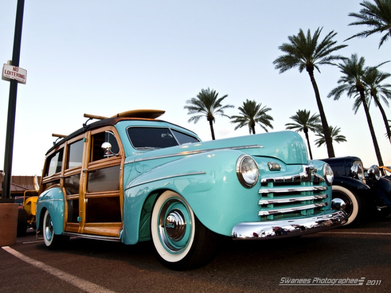 Les Woody's Surf car 88888811