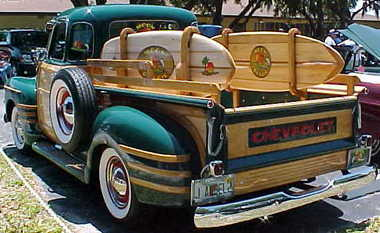 Les Woody's Surf car Chevy-10