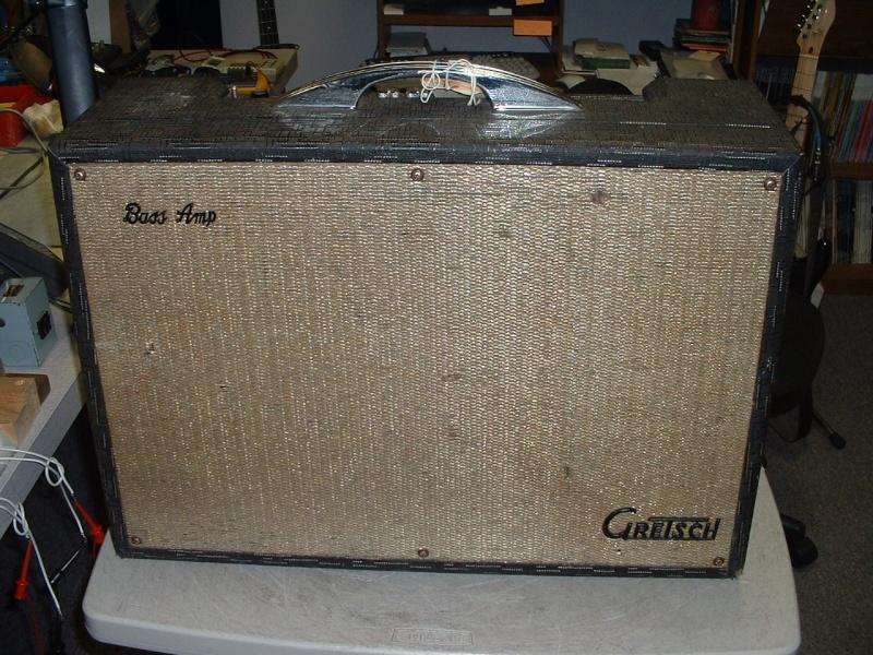 6154 Bass Amp 1965. Gretsc10