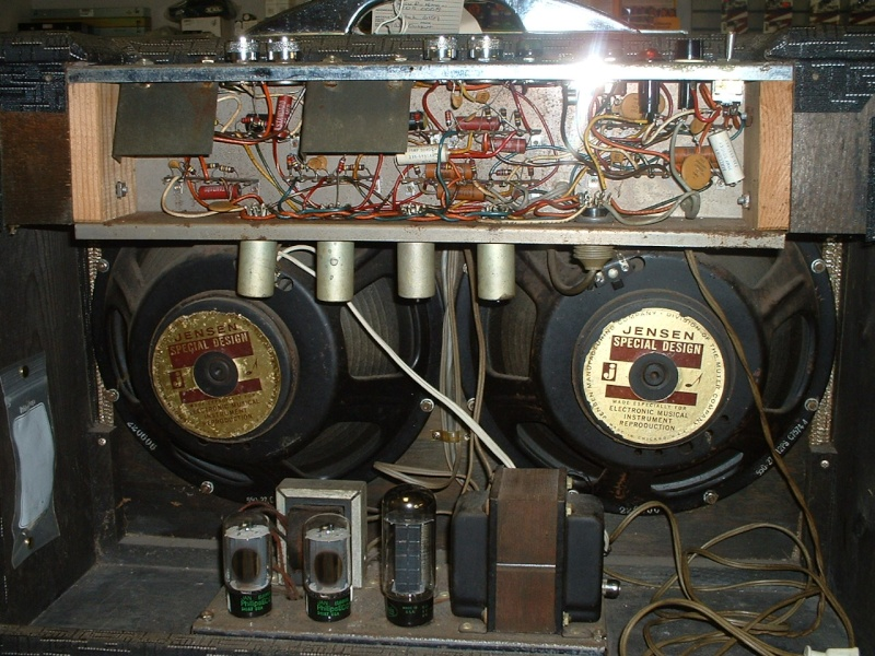 6154 Bass Amp 1965. Gretsc11