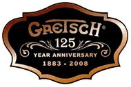 sticker 125 years anniversary Gretsc13