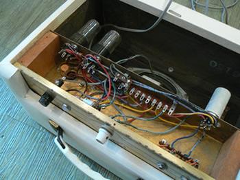 RARE 1963 Amplificateur princess Gretsch. Naibu10
