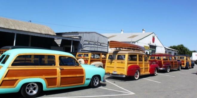 Les Woody's Surf car Santa-10