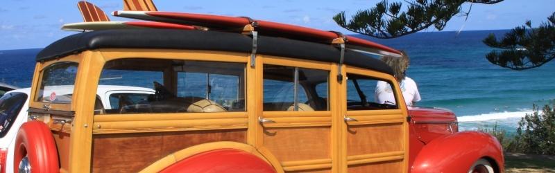 Les Woody's Surf car Slide110