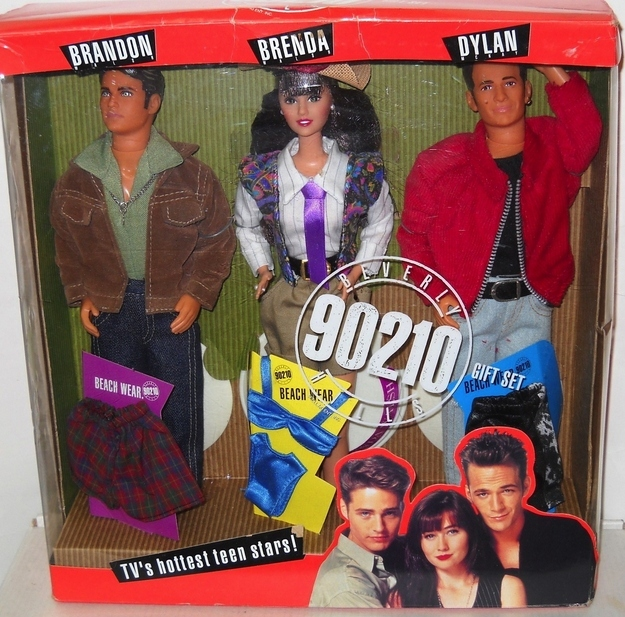 BEVERLY HILLS 90210  (Mattel) 1993 Enhanc10
