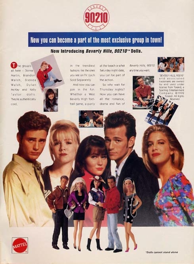 BEVERLY HILLS 90210  (Mattel) 1993 Enhanc11