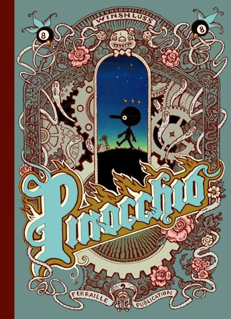 Pinocchio de Winshluss Pinocc10