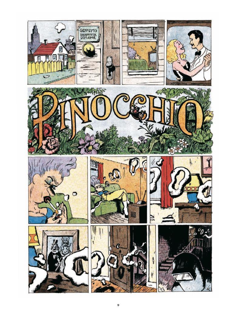 Pinocchio de Winshluss Pinocc11