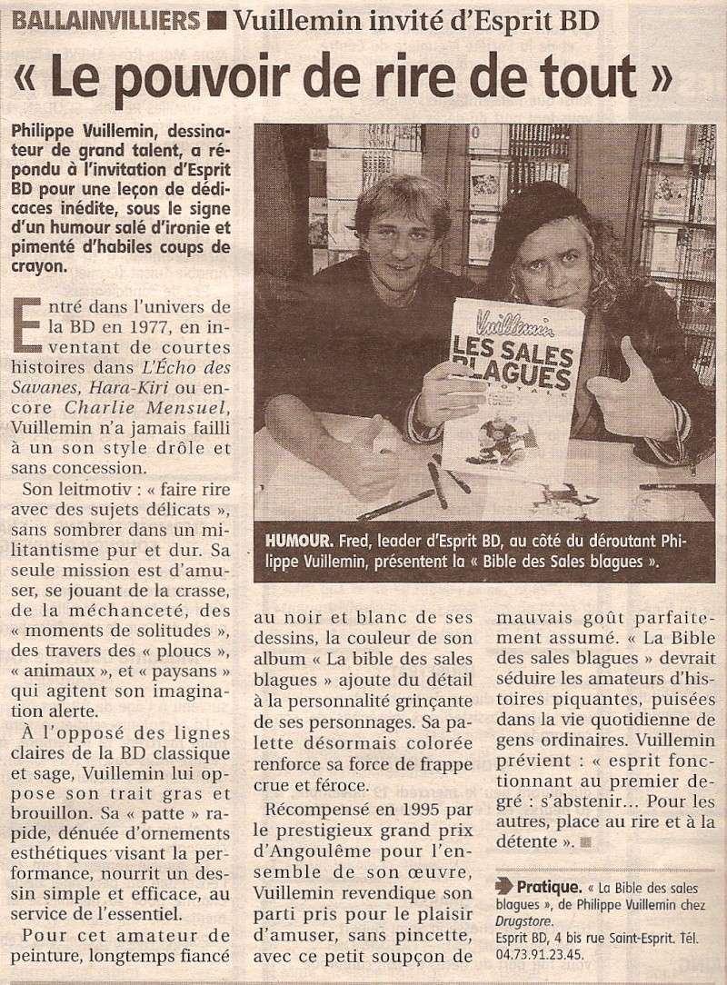 Dédicace Vuillemin samedi 15 novembre 2008 Sc000710
