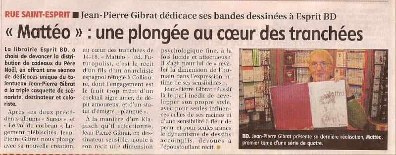 Dédicace Gibrat samedi 29 novembre 2008 Sc000911
