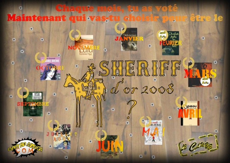 Sheriff d'or 2008 - Vote final Votesh10