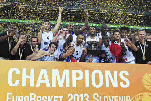 EUROBASKET 2013, La France sur le toit de l'Europe ! Captur17
